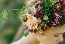 floral accessories / halos, corsages, etc