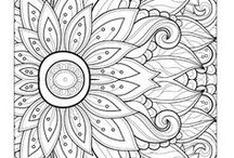 Adult Coloring Pages / Fashion Coloring Pages, Adult Coloring Books, Free Downloads