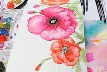 Sketchbook / Fun, colorful and creative sketchbooks