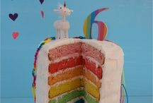 rainbow unicorn party / by Rebecca Miller