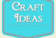 Craft Ideas / fun craft projects to make