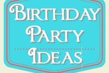 Birthday Party Ideas / DIY decorations, cakes, and more