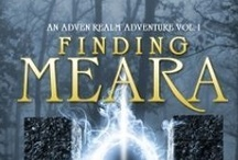 Finding Meara / The first book of the Adven Realm Series.  It's a bad day for privileged Hazel Michelli when a case of mistaken identity lands her in a magical world and she must rescue her new-found half-sister before their sadistic father can sacrifice either in his quest for immortality and unrestrained power.  Amazon Link: http://amzn.to/18o5U5z