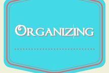 Organizing / ideas for getting organized