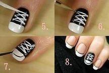 makeup, nails, hair