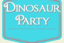 Dinosaur Birthday Party / Dinosaur birthday party ideas