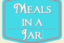 Meals in a Jar / recipes that fit in a jar