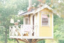 cubby houses / by Rebecca Miller