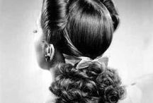 Vintage Hair / Vintage hairstyles and tutorials. Like what you see here? Check out our For Sale boards! Find us on Instagram- @styleandsalvage @styleandsalvagemen