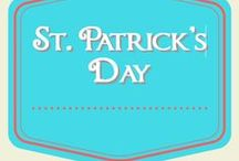 St. Patrick's Day / Ideas for celebrating St. Patrick's Day