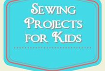 Sewing Projects for Kids / super simple sewing projects