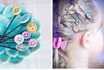 DIY hair clips / by Rebecca Miller