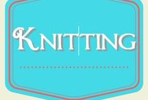 Knitting / simple knitting projects