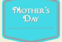 Mother's Day/Spring Party/Tea Party / Ideas for celebrating Mother's Day (or just having a tea party)