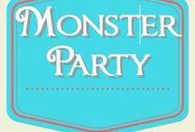 Monster Birthday Party / Monster birthday party ideas