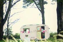 Vintage campers / by Rebecca Miller