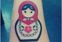Tattoos / by Rebecca Miller