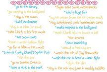 Summer bucket list / by Rebecca Miller