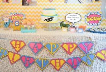 Superhero party / by Rebecca Miller