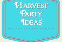 Harvest Party Ideas / harvest party ideas