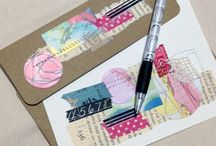 Inspiring artwork: Cards Handwritten Notes