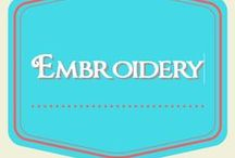 Embroidery / embroidery patterns and more