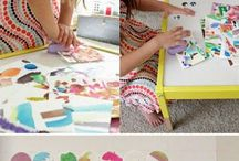 Art projects...for the girls / by Rebecca Miller