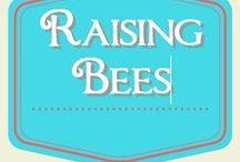 Raising Bees / raising bees for honey