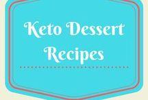 Keto Dessert Recipes / Keto, low carb, LCHF, diabetic dessert recipes