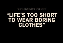 Fashion for Life... / Fashions for my home and soul. / by Roxanne Masching