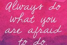 Quotes / by Caitlin Wichterman