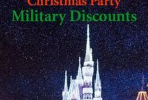 Other Disney Military Discounts / All the Military Discounts available for a Disney Vacation | A complete listing can be found at:   http://www.militarydisneytips.com/Military-Discounts.html