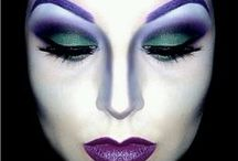 Makeup and Fantasy / Fabulous, dramatic, gothic, Halloween, glam and glitter, and fantasy related eye and face makeup.