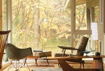 Mid Century Modern / Collection of images from danish modern and mid century modern style of homes.