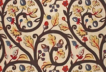 Fabric: Clarence House / includes wallcoverings too