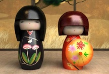 ༺♥Kokeshi♥༻ / ༺Kokeshi♥Love༻ / by ☠ Stacy Goforth ☠
