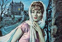 Gothic Romance Paperback Novels / Vintage gothic suspense, gothic romance paperback book cover artwork from the 60's and 70's. Click on an image to see my facebook back of the same name :-)