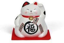 Characters - Lucky Cat ~ Maneki Neko / lucky cat, maneki neko / by ☠ Stacy Goforth ☠
