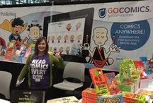 GoComics at Comic Con / Comic Cons are a blast! We love meeting our fans, hosting cartoonist signings and giveaways, and of course, checking out the awesome cosplay!  / by GoComics