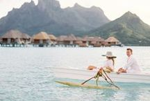 HONEYMOON / These destinations are on our honeymoon list