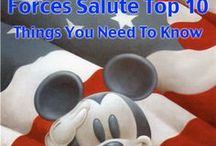 Disney Armed Forces Salute / The Disney Armed Forces Salute offers Disney theme park tickets at over half off the regular price and Disney resort rooms at a 30% to 40% discount! | Click through for all the information you need to know about this great military discount | http://www.militarydisneytips.com/Disney-Armed-Forces-Salute.html