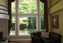 Our Work: Arch Top Windows