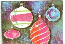 Christmas 8B: Vintage Cards / I have tried to concentrate here on Christmas card art from the 1950s on. However, many of these cards are on my board entitled Christmas 6: In the Pink, which also has many cards from the 1950s. Enjoy!