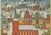Christmas 11: Advent Calendars & Creches
