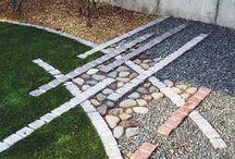 JARDÍN - Pavimentos / Landscape Paving / Materiales Duros en el Jardín