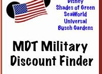 Military Discounts / Military Discounts are gathered together all in one place on this board.  | These are not specifically limited to Disney Military Discounts | Be sure to check out our site for those:  http://www.militarydisneytips.com/