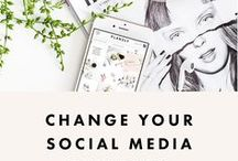 SOCIAL MEDIA TIPS / Increase your social media presence, tips for bloggers, small business owners and creatives. social media, social media inspiration, pinterest tips, instagram tips, twitter tips, social growth, business social media, blogging, personal branding, social media for bloggers