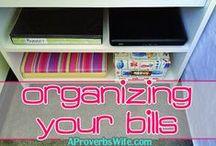 Frugal Organization Ideas