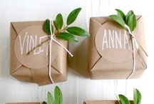 Gift Packaging / by Cherry Decorations