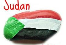 ♥ Sudan the beautiful ♥ / Photos that celebrate the beautiful country of Sudan....Sudanese food...Sudanese people...Sudanese landscape.... To learn more, please visit http://acraftyarab.com/2016/06/sudan-flag-lantern-tutorial/ to make a craft about Sudan the beautiful.